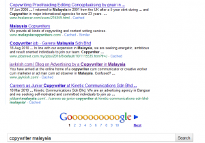 Jay Krish on Google's first page!