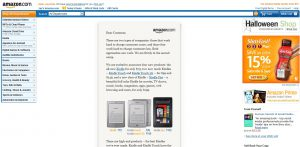 Amazon Home Page