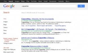 Google Ranking 1