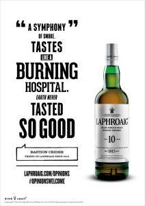 Laphroaig Ad Hospital